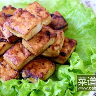 酱香炸豆腐