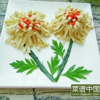 菊花豆腐皮