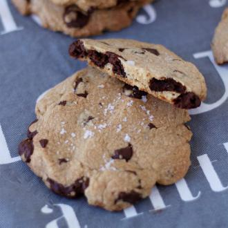 海盐巧克力大cookie