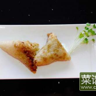 苦荞豆沙粽