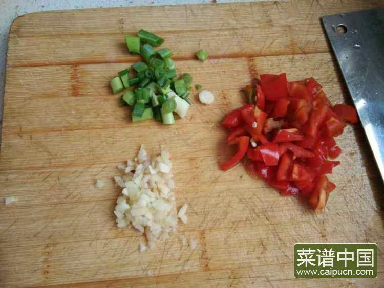 快手酱茄子的做法步骤3