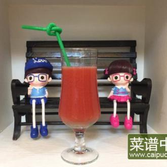 鸭梨番茄汁