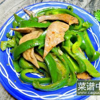 菜椒炒猪干