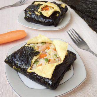 海苔蛋包饭
