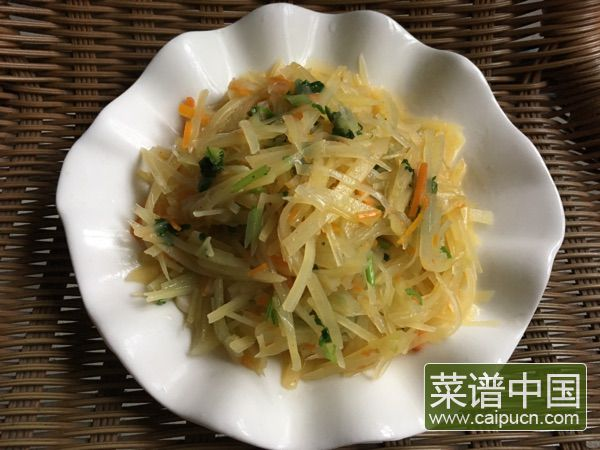 素炒土豆丝的做法步骤8