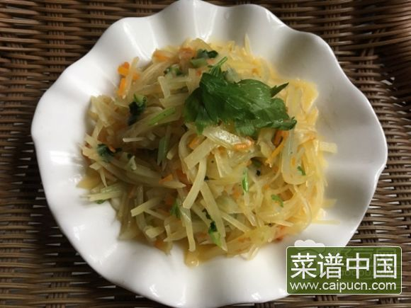 素炒土豆丝