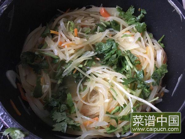 素炒土豆丝的做法步骤7
