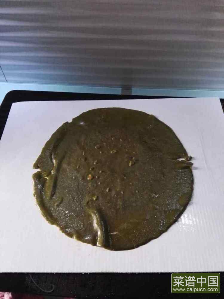 芒果抹茶千层的做法步骤12