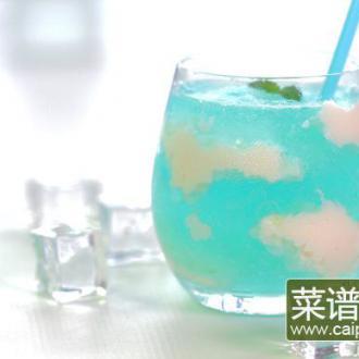 天空鸡尾酒果冻