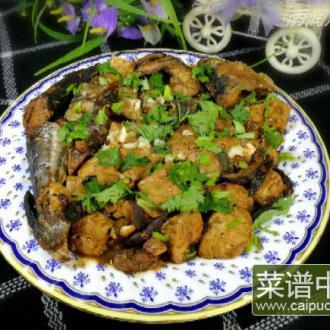 酱香鲅鱼豆腐