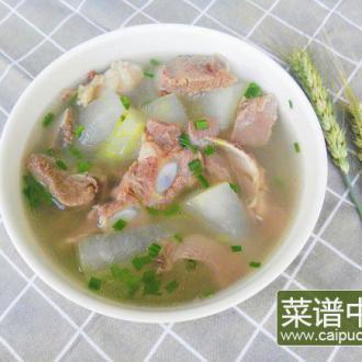 冬瓜脆骨汤