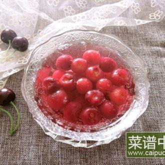【烘焙甜点】樱桃罐头