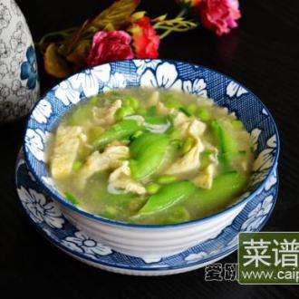蛋皮丝瓜汤