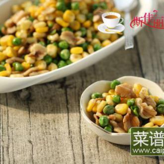 核桃青豆玉米