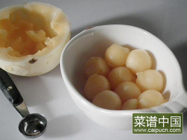 香瓜虾球的做法步骤2