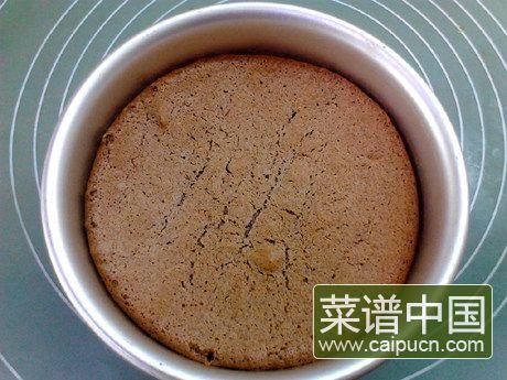 黑米戚风蛋糕的做法步骤15