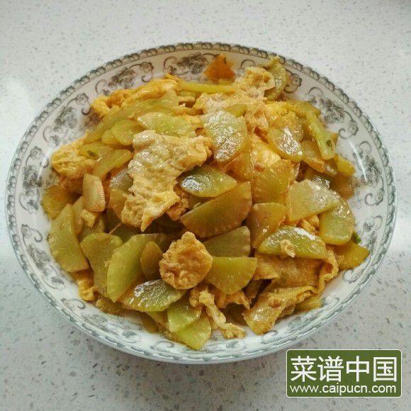 莴苣炒鸡蛋