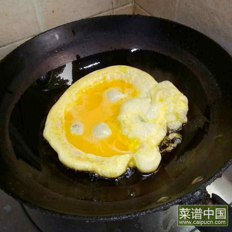 莴苣炒鸡蛋的做法步骤3