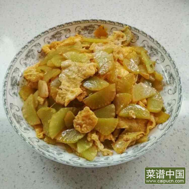 莴苣炒鸡蛋的做法步骤10
