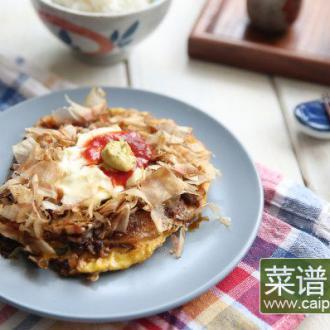 【蔬菜煎饼】大阪烧