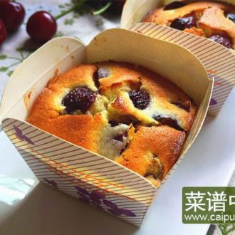 樱桃玛芬蛋糕