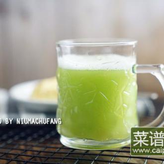 #盛夏餐桌#黄瓜桃汁