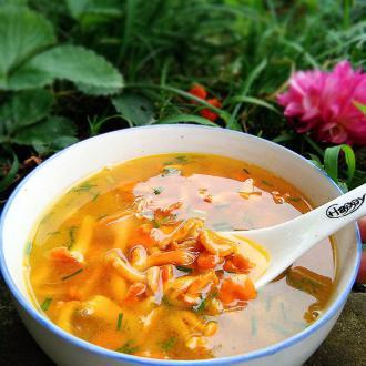 #盛夏餐桌#包谷菌鲜汤