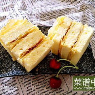 """""""中国风""""拿破仑蛋糕"""