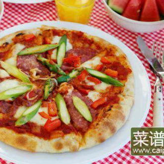 先煎后烤披萨#盛夏餐