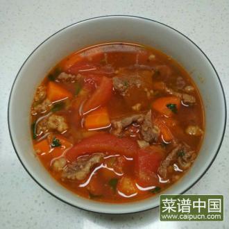 牛肉柿子胡萝卜汤