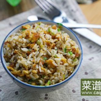 #盛夏餐桌#豆末蛋炒饭