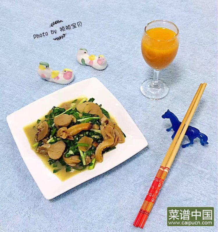 #盛夏餐桌#大蛤炒韭菜的做法步骤9
