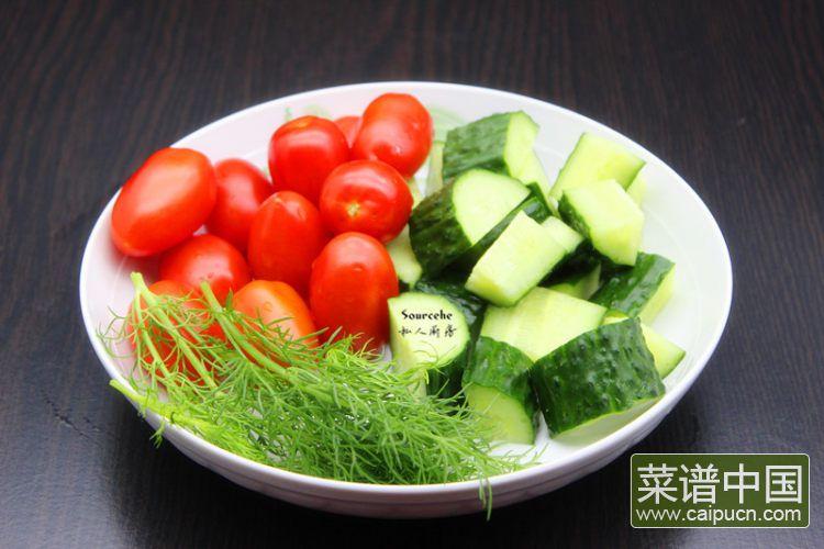 夏日排毒五色沙拉#盛夏餐桌#的做法步骤4