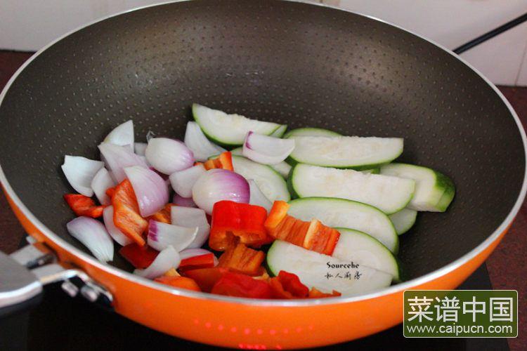 夏日排毒五色沙拉#盛夏餐桌#的做法步骤10