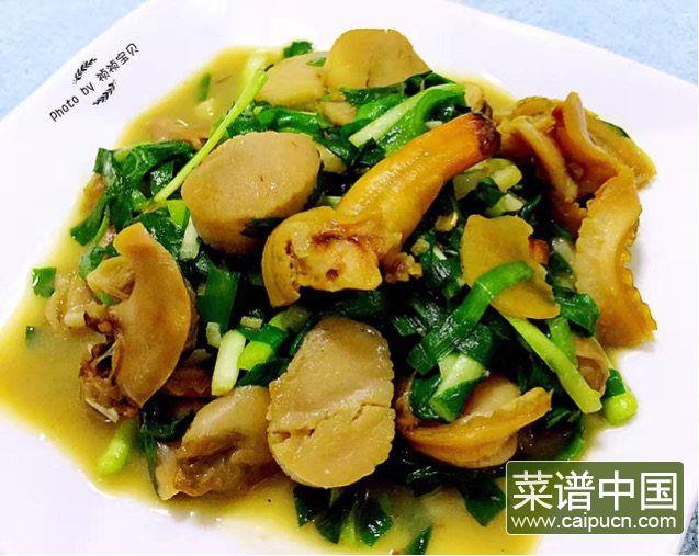 #盛夏餐桌#大蛤炒韭菜的做法步骤10