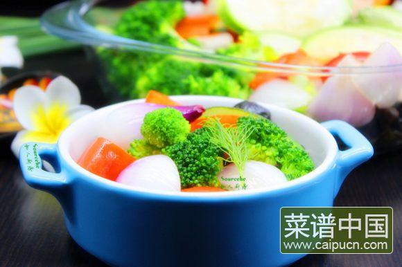 夏日排毒五色沙拉#盛夏餐桌#