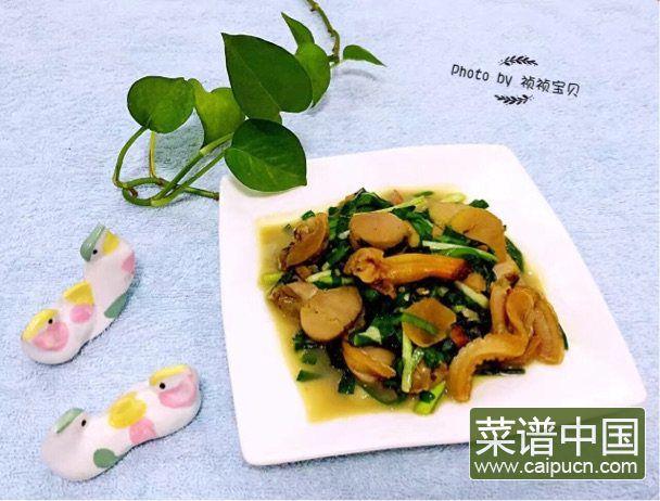 #盛夏餐桌#大蛤炒韭菜的做法步骤8