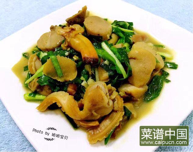 #盛夏餐桌#大蛤炒韭菜的做法步骤7