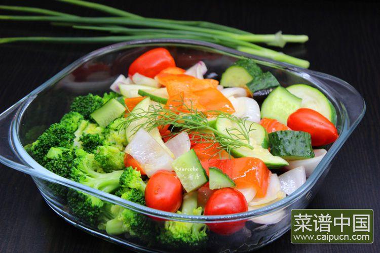 夏日排毒五色沙拉#盛夏餐桌#的做法步骤12