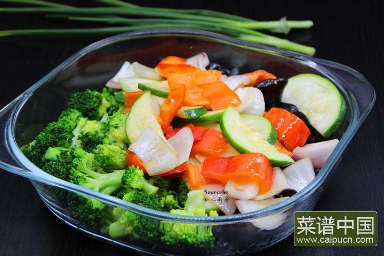 夏日排毒五色沙拉#盛夏餐桌#的做法步骤11