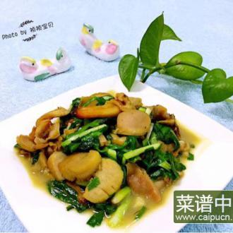 #盛夏餐桌#大蛤炒韭菜