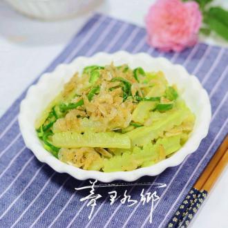 #盛夏餐桌#虾皮炒苦瓜
