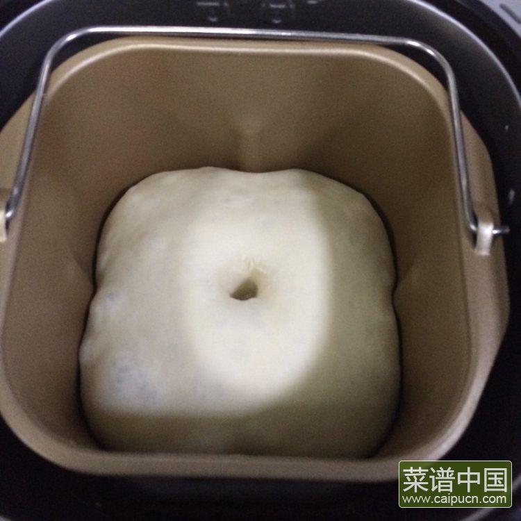 葡萄干椰蓉泡浆面包的做法步骤3