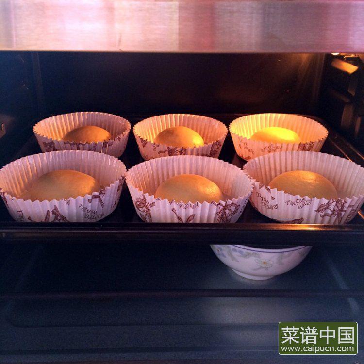 葡萄干椰蓉泡浆面包的做法步骤5