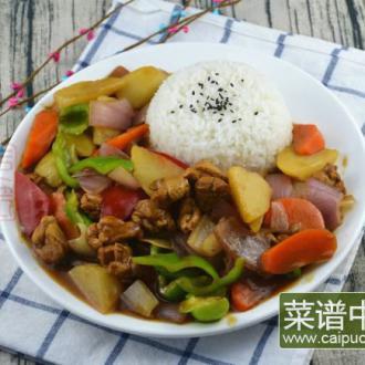 #盛夏餐桌#咖喱鸡肉饭