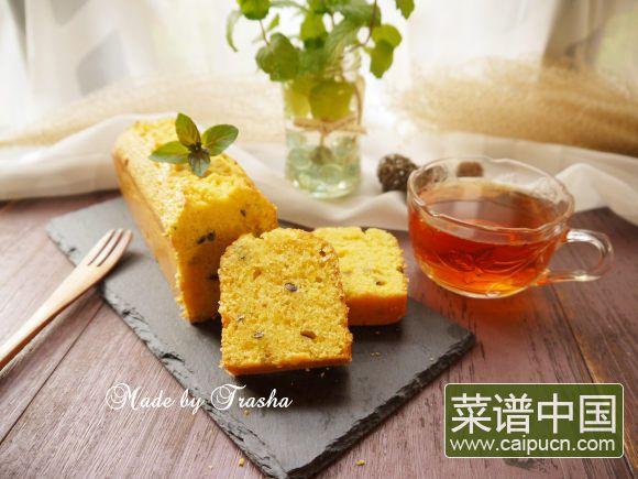 #盛夏餐桌#百香果磅蛋糕