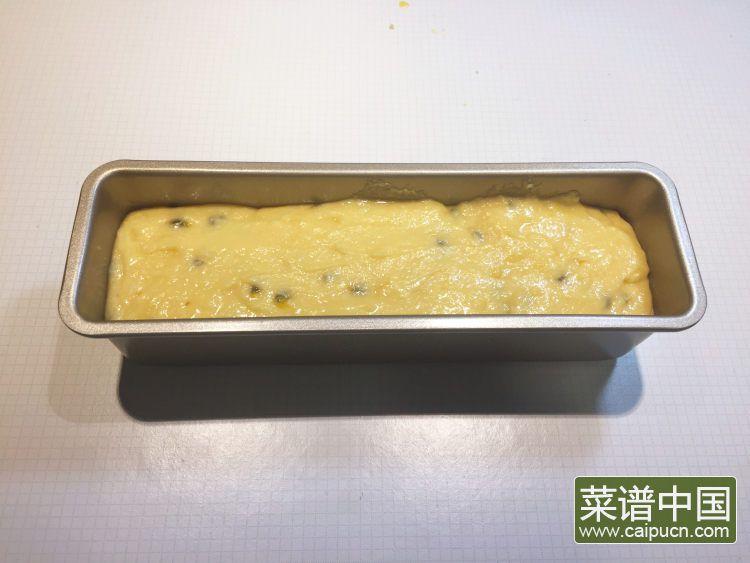 #盛夏餐桌#百香果磅蛋糕的做法步骤13