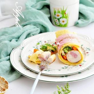 玉米金枪鱼卷#盛夏餐