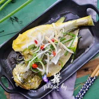 #盛夏餐桌#清蒸黄瓜鱼