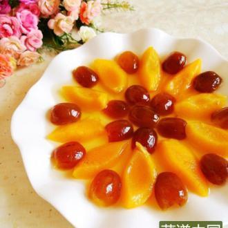黄桃蜜枣甜汤